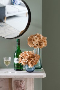 Croft Spot Mirror and Vases